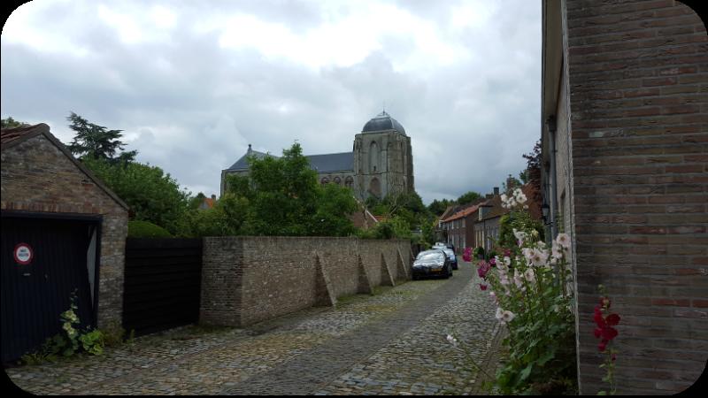 Blick auf die Grote Kerk Veere, Provinz Zeeland, Holland (Niederlande) | Arthurs Tochter Kocht von Astrid Paul