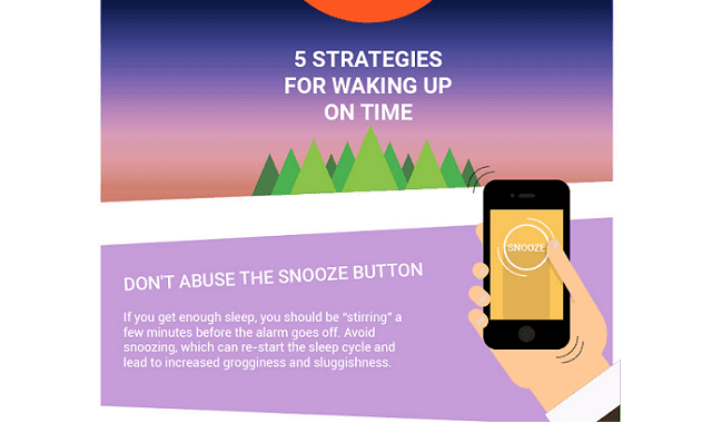 5 Strategies for Waking Up on Time