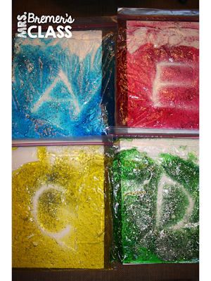 Squishy Bags: tactile printing activity {Click for instructions!}