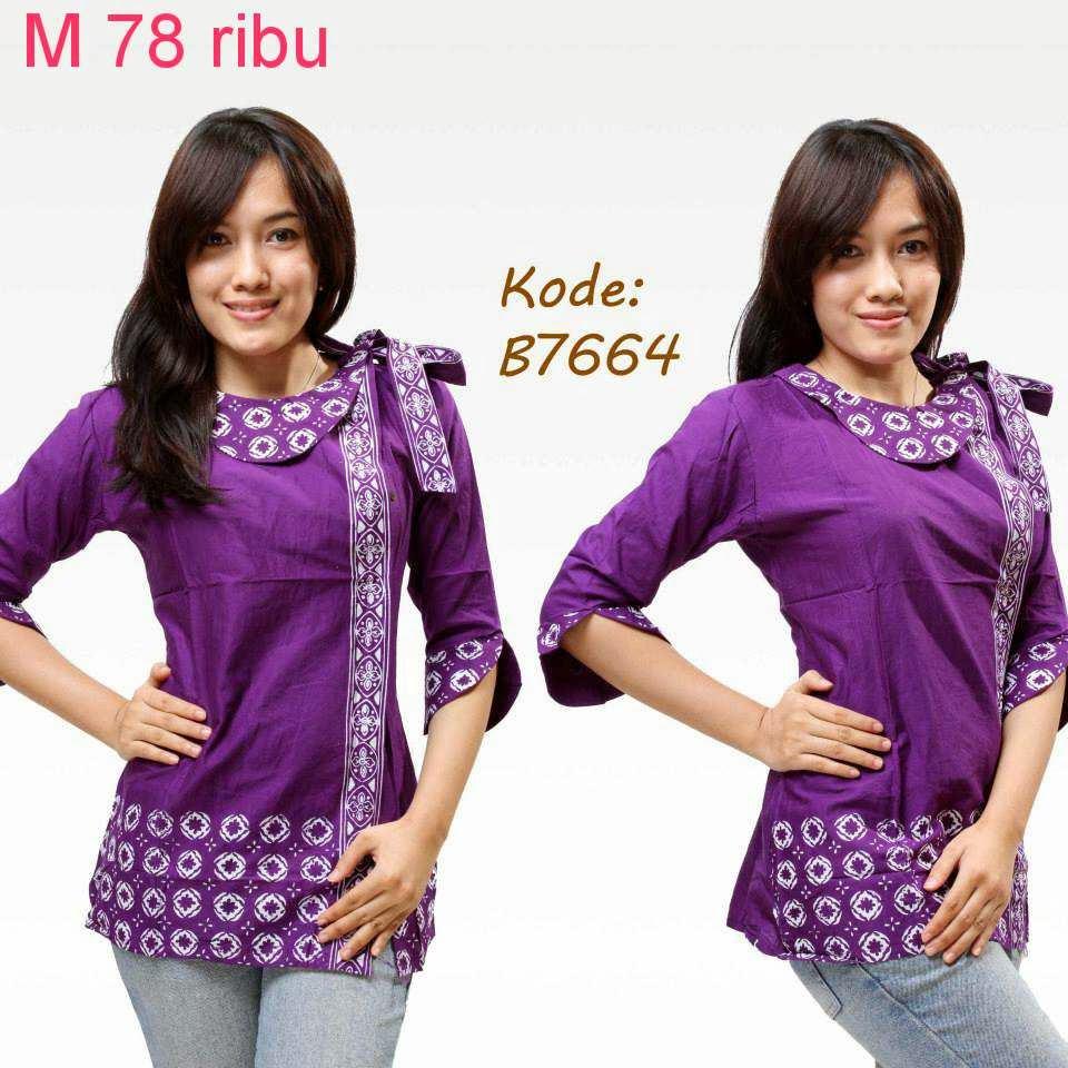 Macam Model Baju Batik: Foto Model Baju Batik