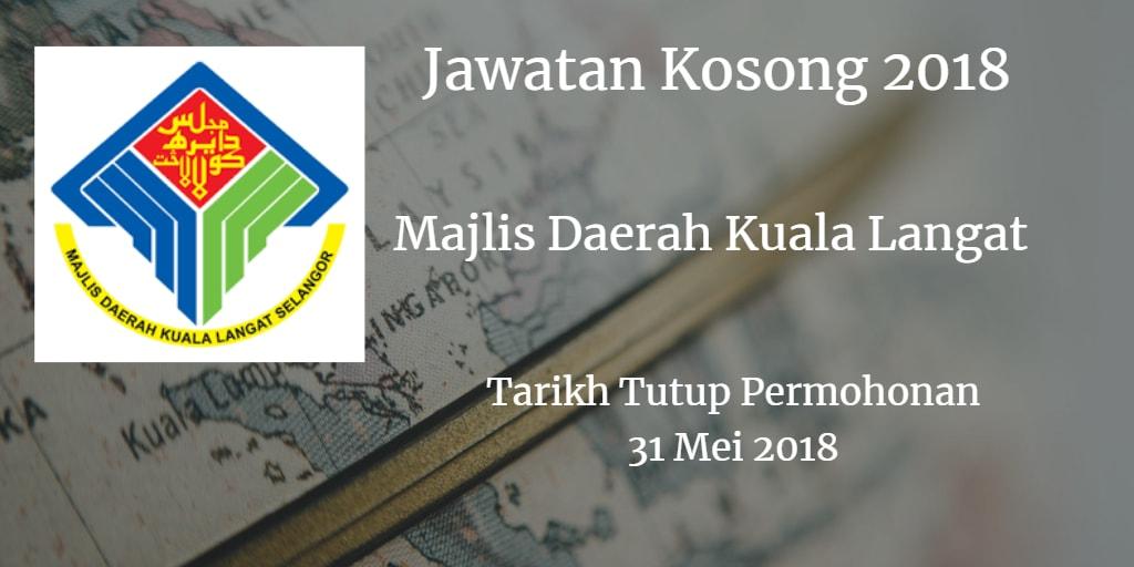 Jawatan Kosong MDKL 31 Mei 2018