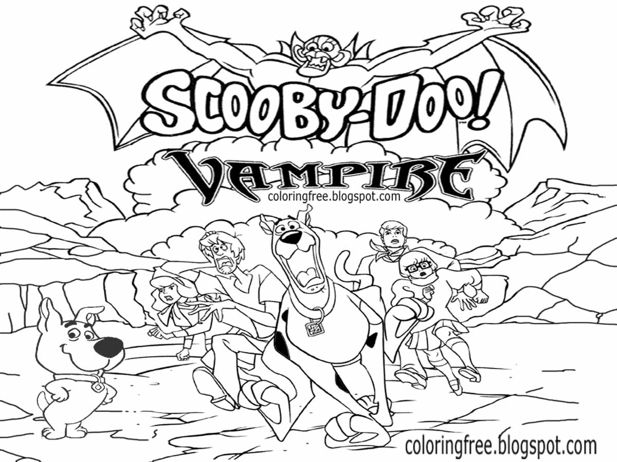 scrappy coloring pages - photo#32