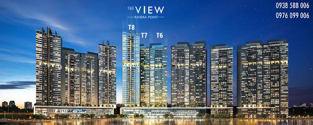 Phối cảnh tổng thể dự án The View quận 7.