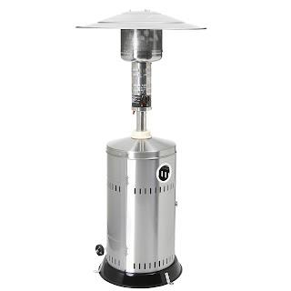 Incalzitor Patio . adecvat pentru gaz propan sau gaz butan, usor de transportat , aprindere electronica, furtun d gaz si regulator de presiune incluse,consum 1048 g / h Ø770x (H), 2200 mm 40311 Putere 50 mbar