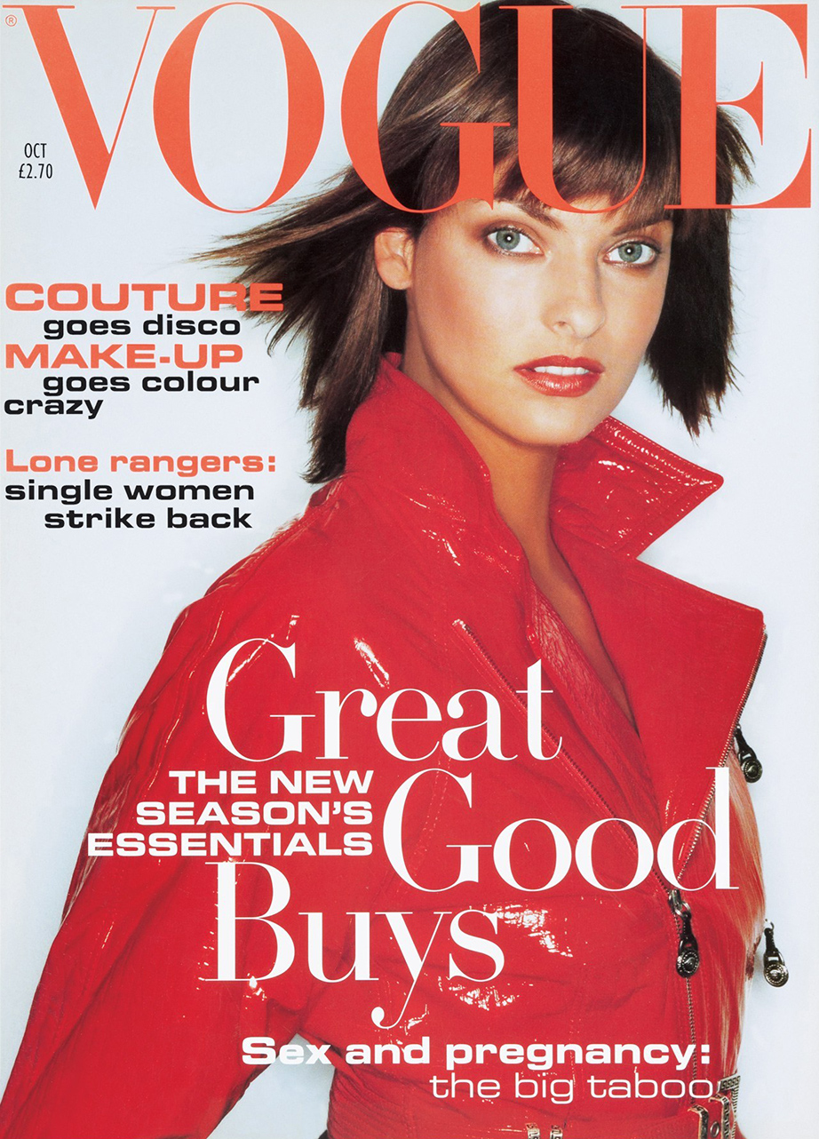 Vogue's Covers: Linda Evangelista