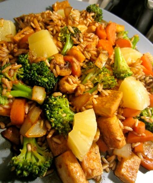Really Simple Vegetarian Stir Fry