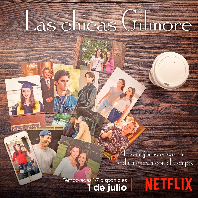 En julio las siete temporadas de \'Las Chicas Gilmore\' desembarcan en ...