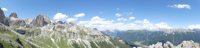 Panorama - Rosengarten, Dolomiten