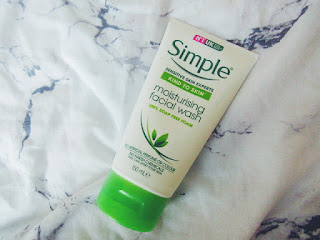 simple face wash