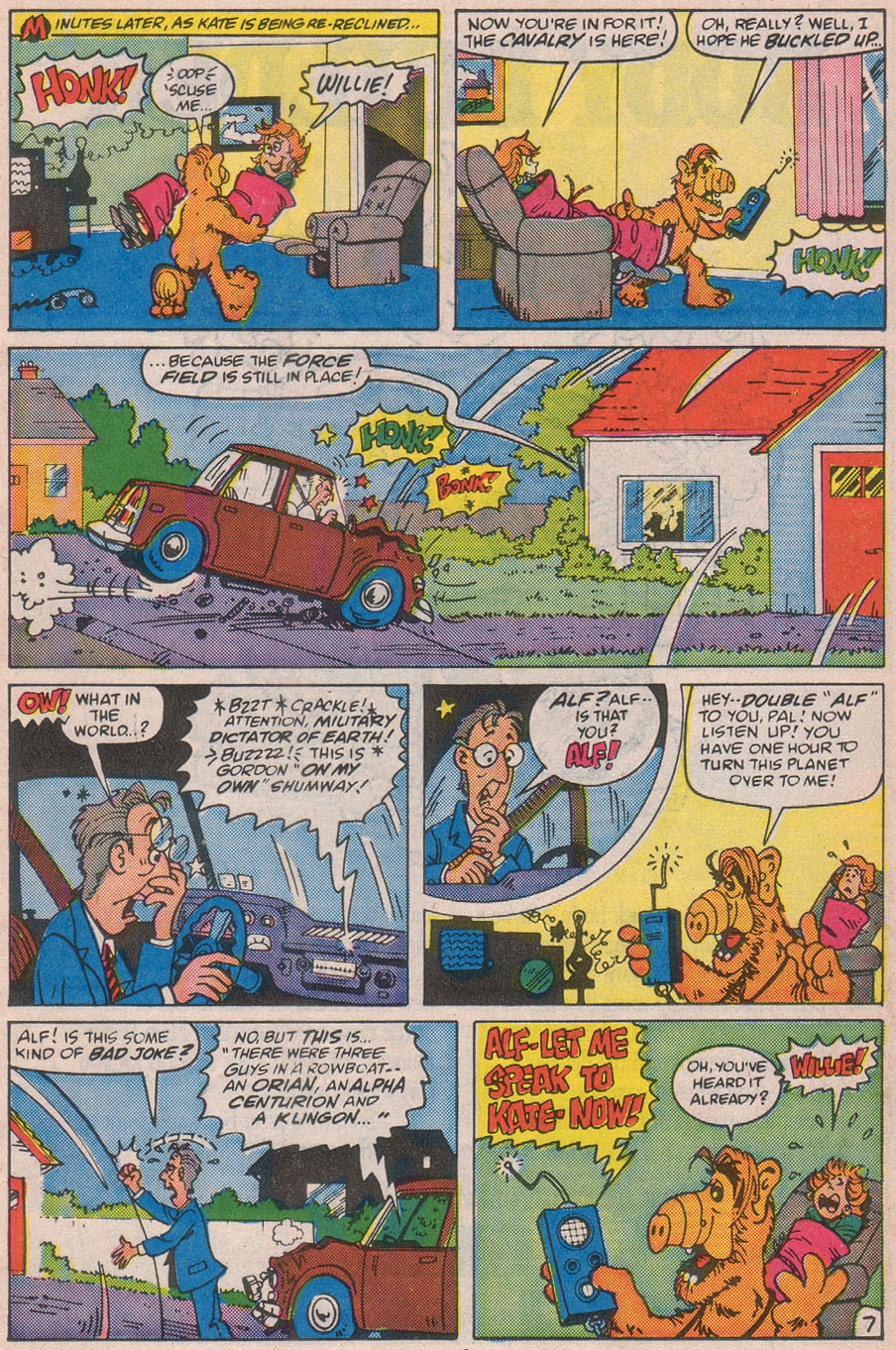 Read online ALF comic -  Issue #12 - 11