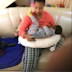 See photo of Tonto Dikeh breastfeeding her son, Andre that surfaced online