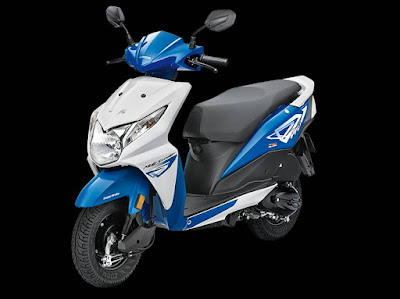 New 2016 Honda Dio white blue edition