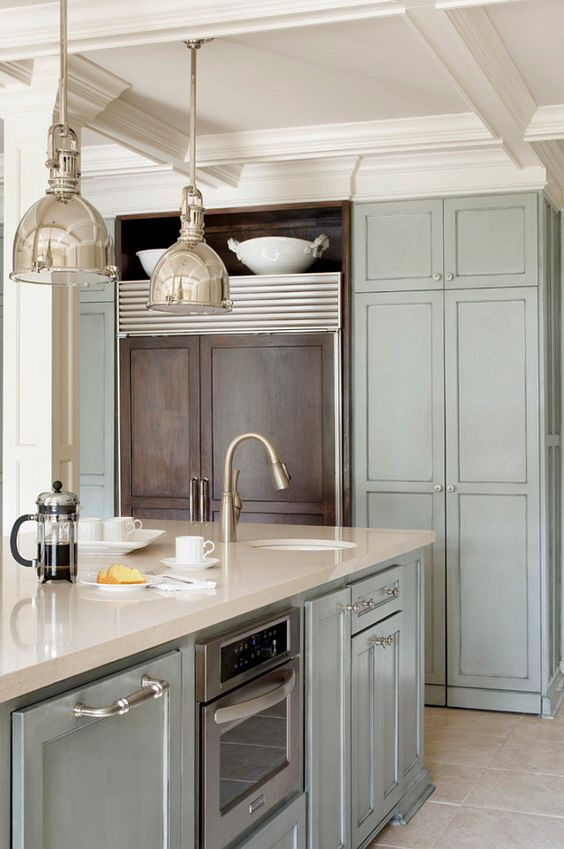View From My Heels: Gray Cabinetry Obsessed
