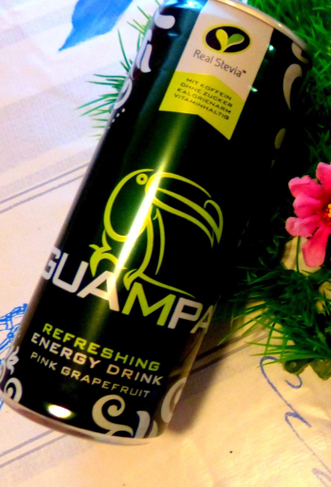 Lucy-und-Rasselbande-Testet: GUAMPA Energy Drink