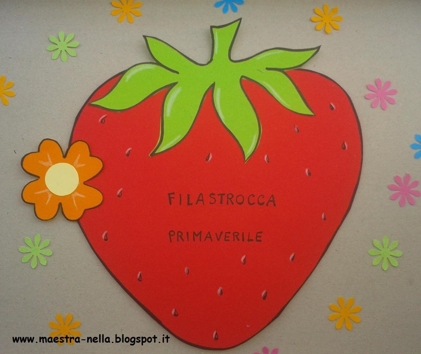 Maestra Nella Libretto Filastrocca Primaverile