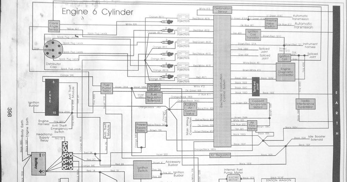 Commodore Vl Wiring Diagram Simple Motorcycle Rb30 Diagrams 280zx Project