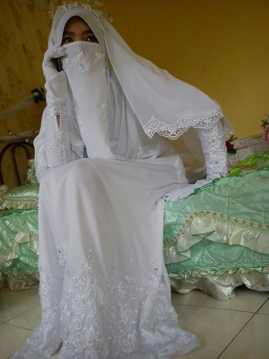Niqab wedding | Niqab wedding | Pinterest