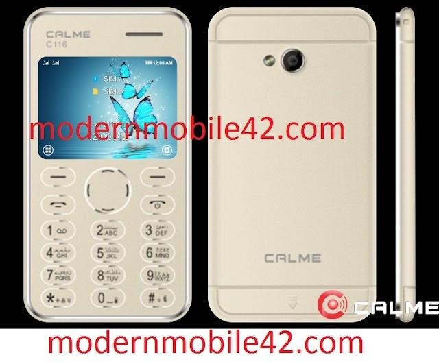 calme c116 flash file read by cm2