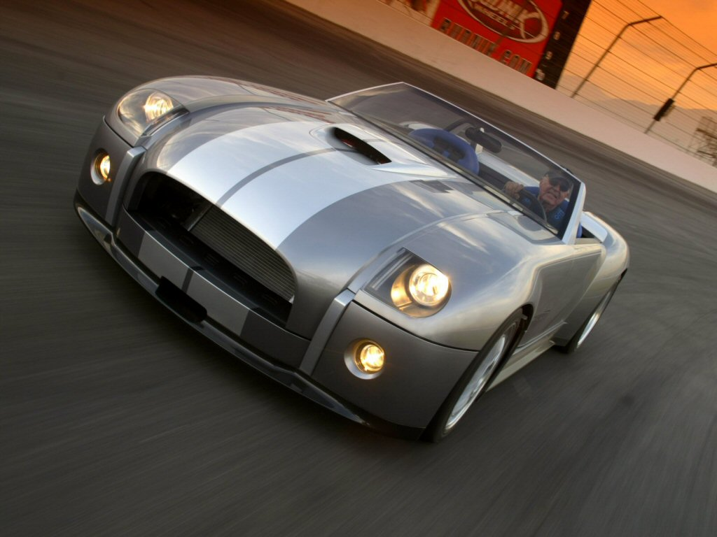 Cars Showroom: Ford Shelby Cobra Concept