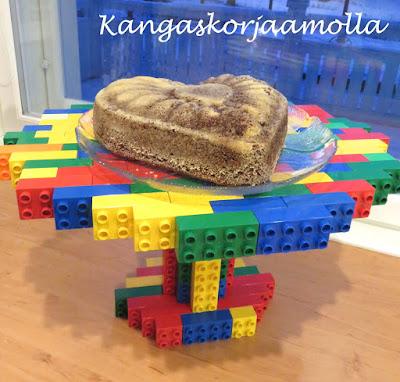 Lego jalallinen kakkulautanen