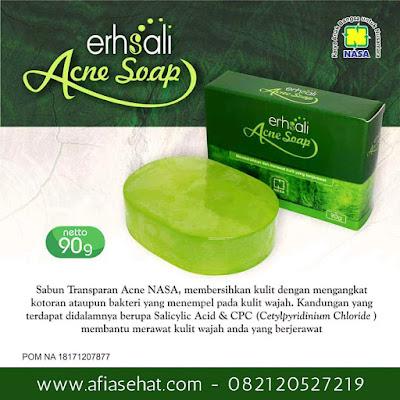 ERHSALI Anti Acne Soap - Mencegah dan Mengobati Jerawat Membandel