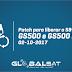 GLOBALSAT GS500 - GS500 PLUS NOVA ATUALIZAÇÃO PATCH SKS 58W - 02/10/2017