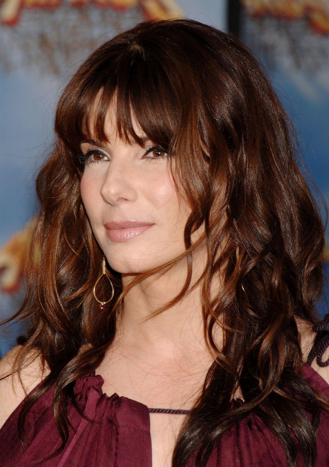 Celebrity Hairstyles Sandra Bullock 2013 Hair Trends