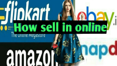 How to sell  product online