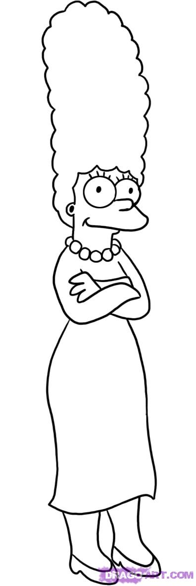 Cartoons coloring pages november 2011 for Coloring pages simpsons