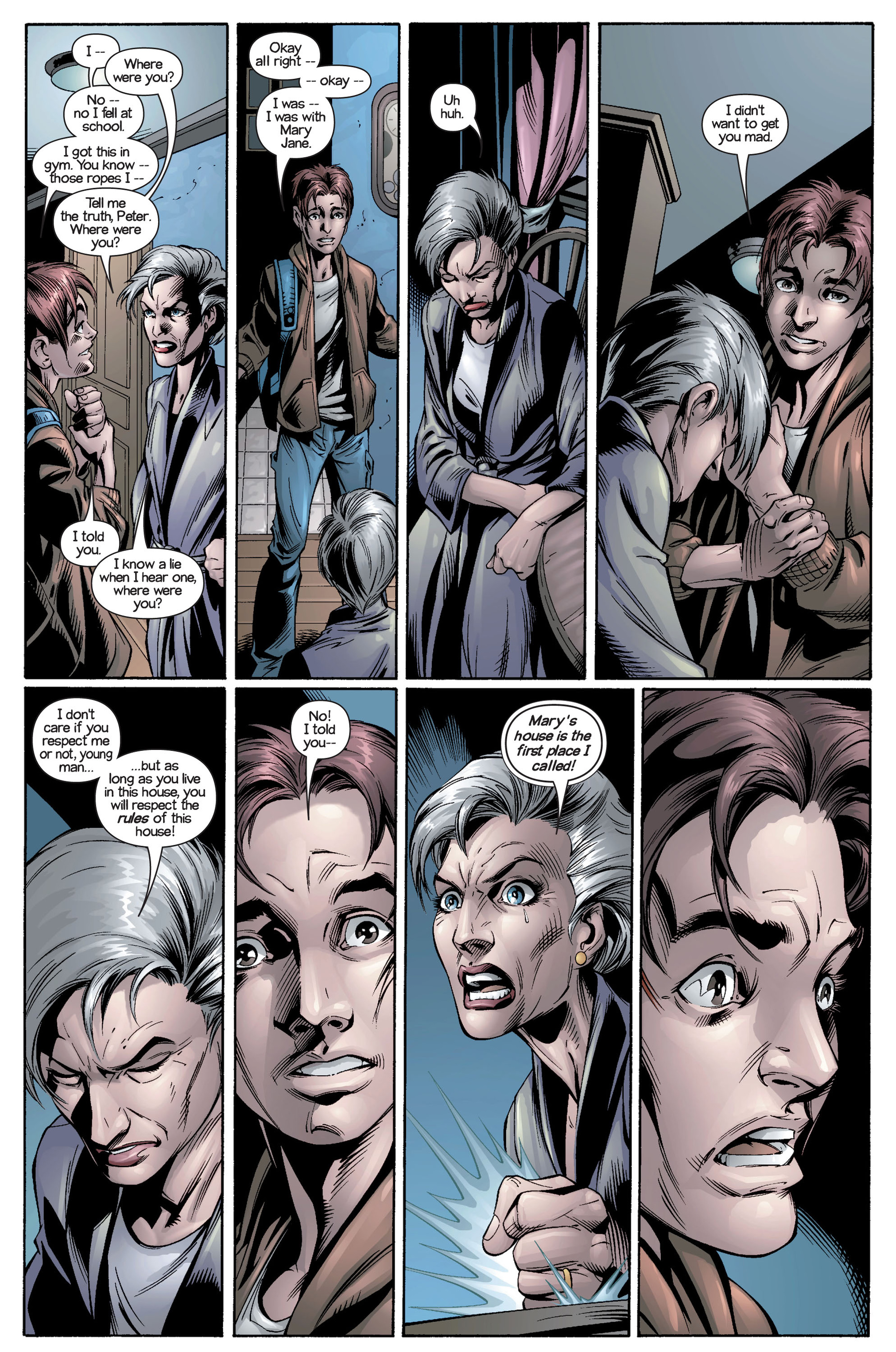 Read online Ultimate Spider-Man (2000) comic -  Issue #21 - 14