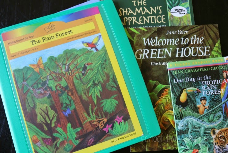 Moving beyond the page Rainforest Unit Study Review from School Time Snippets