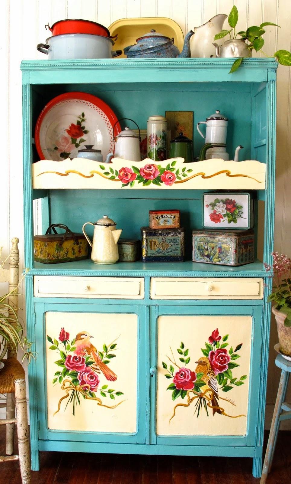 Repagina o de m veis em estilo vintage jeito de casa blog de decora o e arquitetura - Alacenas vintage ...