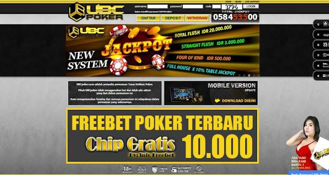 Freebet Terbaru Poker