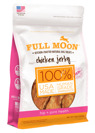 Full Moon chicken jerky hip and joint health