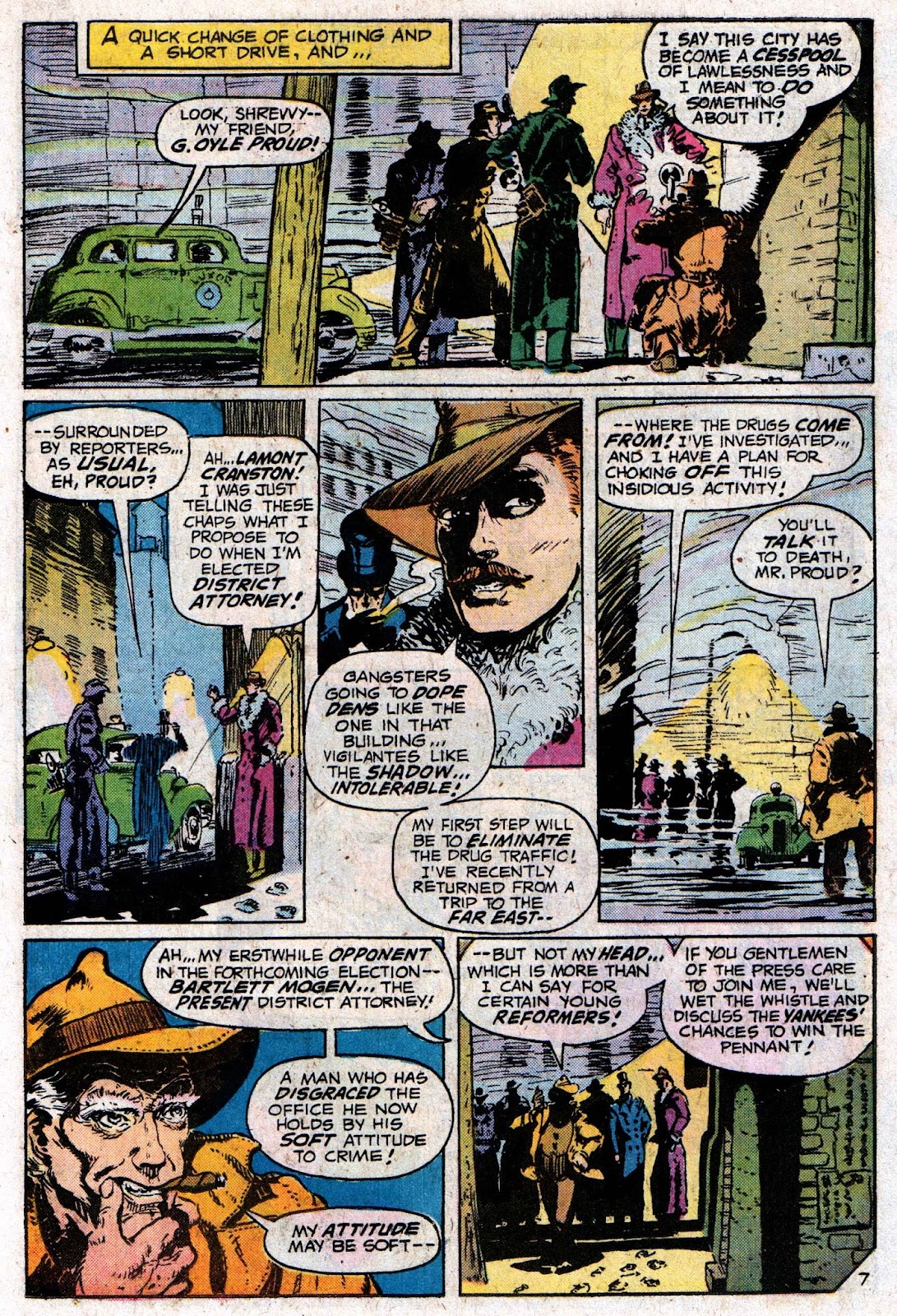 The Shadow (1973) issue 6 - Page 11