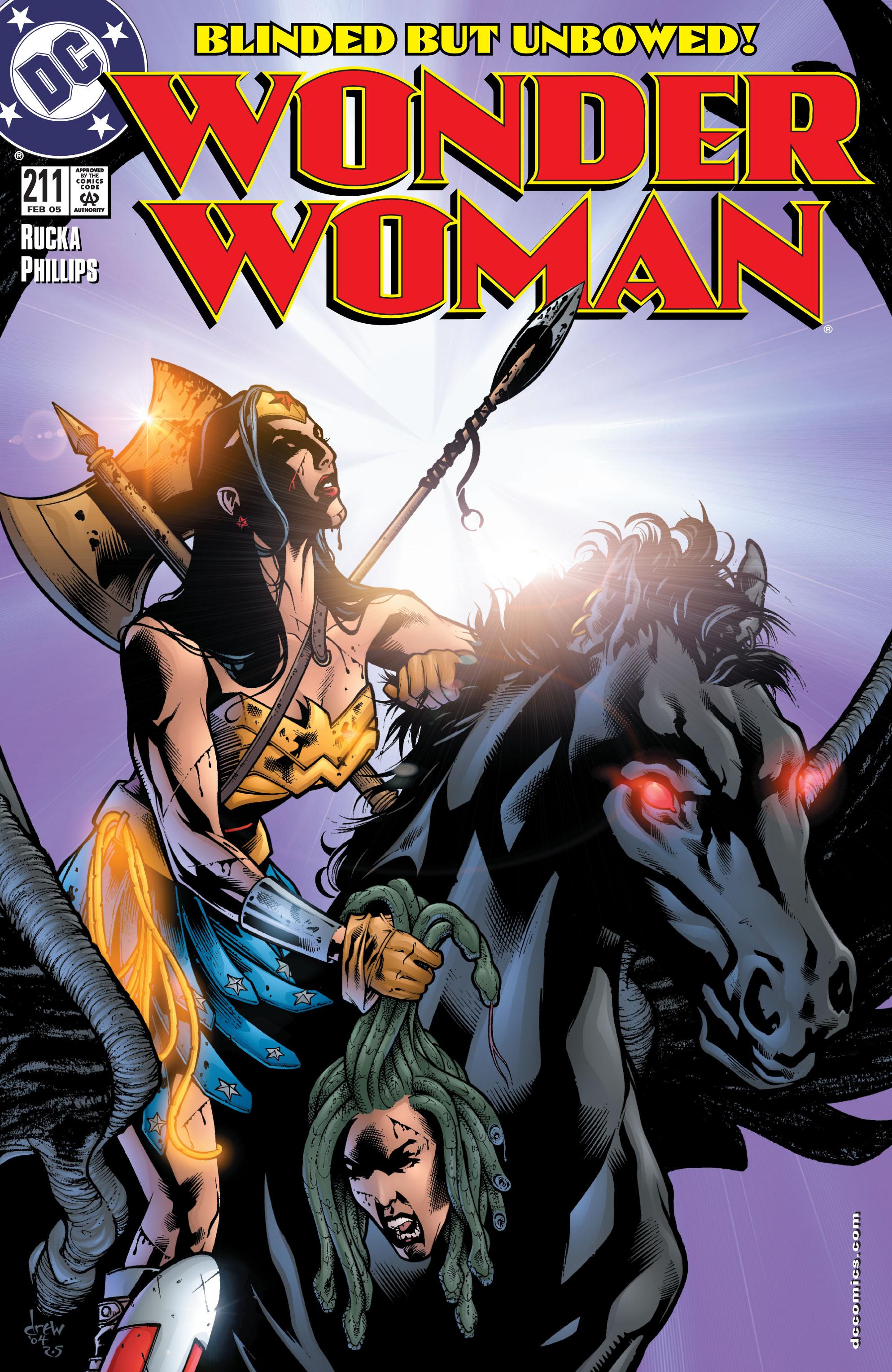 Read online Wonder Woman (1987) comic -  Issue #211 - 1
