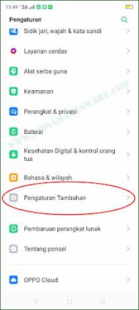 daftar menu rahasia hp oppo yang jarang diketahui banyak orang