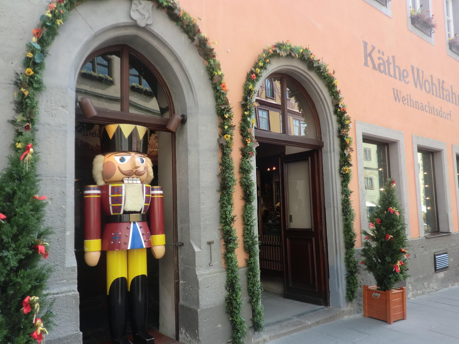 Rothenburg Ob Der Tauber Käthe Wohlfahrt