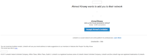 Hi user ahmed kinawy invitation is awaiting your response phishing analysis stopboris Image collections