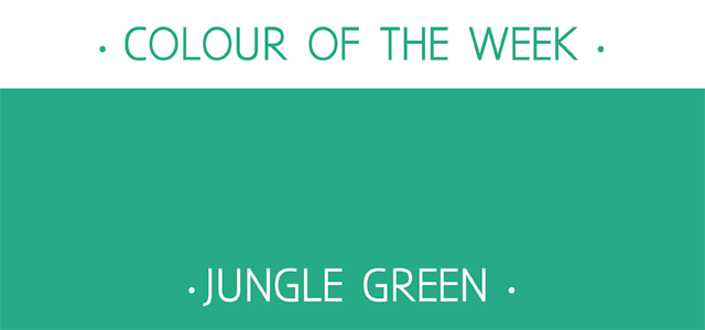... Simons Graphic and Surface Design: Colour of the week - Jungle Green