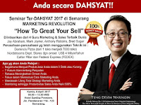 Seminar marketing bersama Tung Dasem Waringin