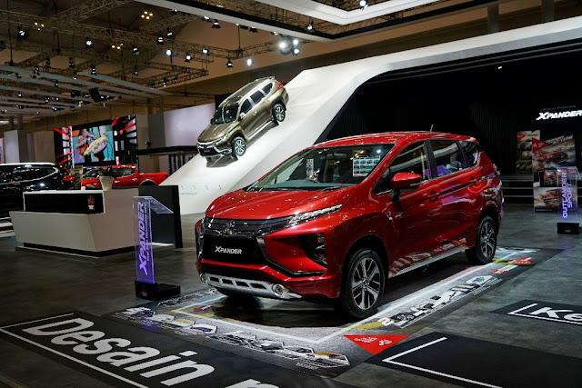 Harga Mitsubishi Xpander GIIAS 2017