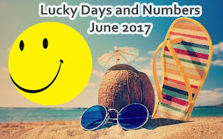 Numerology Lucky Days and Numbers for each sign for June 2017