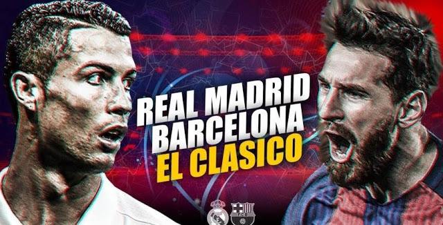 القنوات المفتوحة مجانا الناقلة لمباراة ريال مدريد وبرشلونة - مباراة الكلاسيكو في الدوري الأسباني