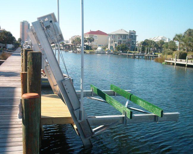 Aluminum Elevator Boat Lifts