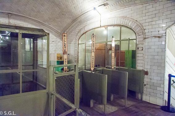 Salida metro Chamberi. Madrid