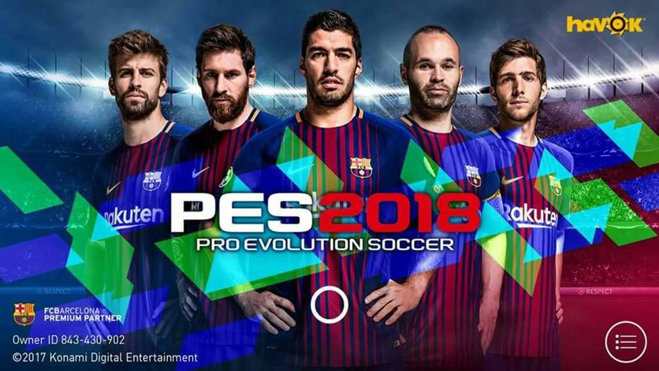 Download PES 2018 v2.0 Apk + Obb - Softnet27 Indonesia ...