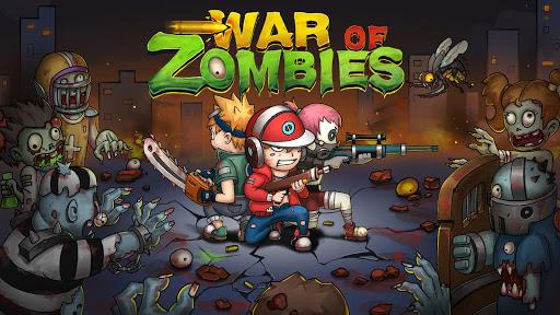 تحميل لعبة War of Zombies – Heroes v1.1.0 مهكرة وكاملة للاندرويد جواهر + أموال لا نهاية