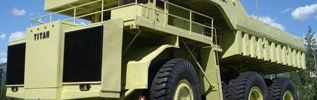 Defense Scam Truck Display