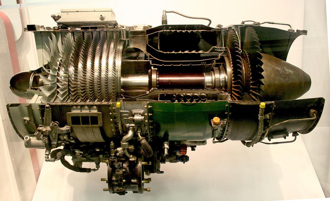 jet engine turbine and - photo #2